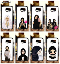 muslim hipster girls man soft TPU edge phone cases for samsung s6 edge plus s7 edge s8 plus s9 plus note5 note8 note9 case pop art sad girl soft tpu edge mobile phone cases for samsung s6 edge plus s7 edge s8 plus s9 plus note5 note8 note9 case