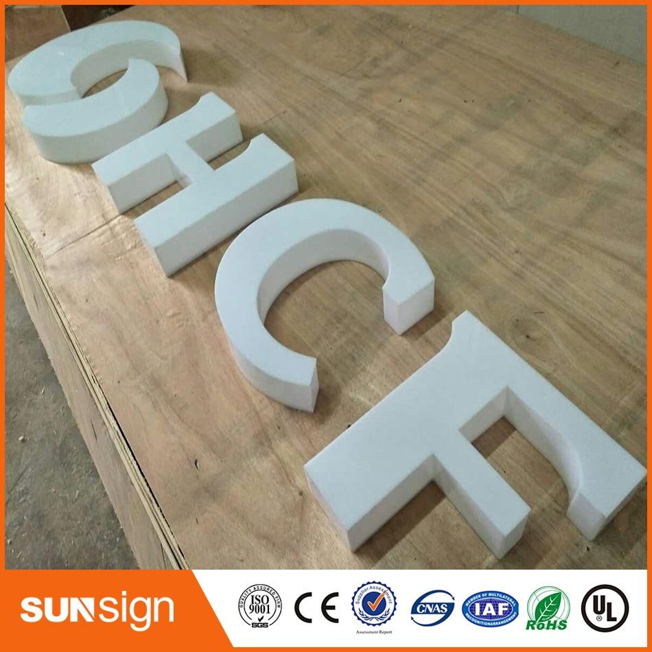 Рекламная компания акрил 3D буквы плексигласа канал надписи ...