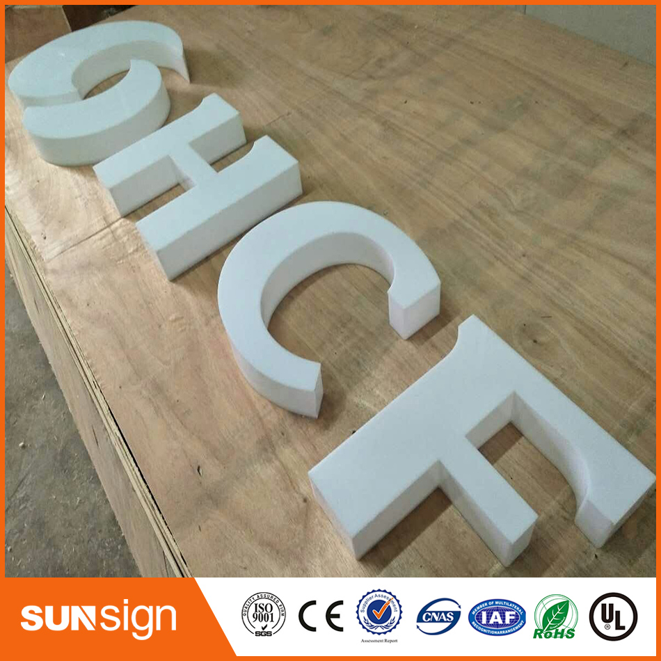 Advertising Company Acrylic 3D Letters Perspex Channel Lettering