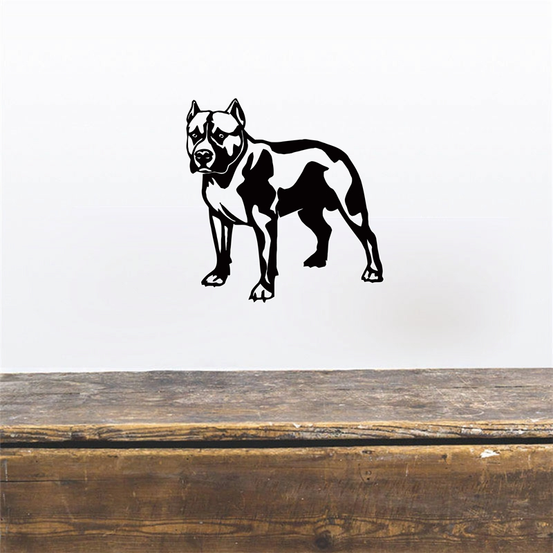 Free shipping Hot French Bulldog Dog Vinyl Wall Decals Sticker Home Decoration Wall Art Mural Removable Sticker,dog car stickers