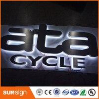 Sunsign напольный канал яркий знак письмо, Нержавеющаясталь светодиодные буквы вывески