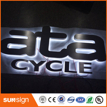Sunsign Outdoor LED Channel Bright Sign Letter,Stainless Steel Led Letters Signs