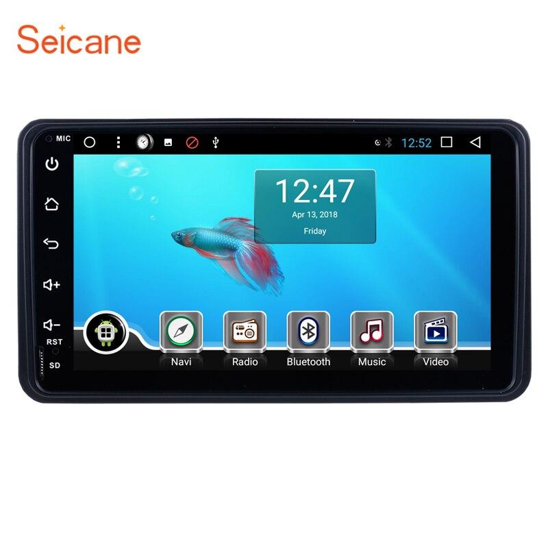 Seicane Android 8.1 7 pouce Un Din Voiture Stéréo Radio Autoradio Navigation GPS Lecteur Multimédia Pour 2006-2012 suzuki Jimny