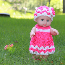 Blink Eyes 30cm Soft Vinyl Doll Girl Olcsó Játékok Ajándékok Reborn Baby Toys Ajándék Gyűjtemények
