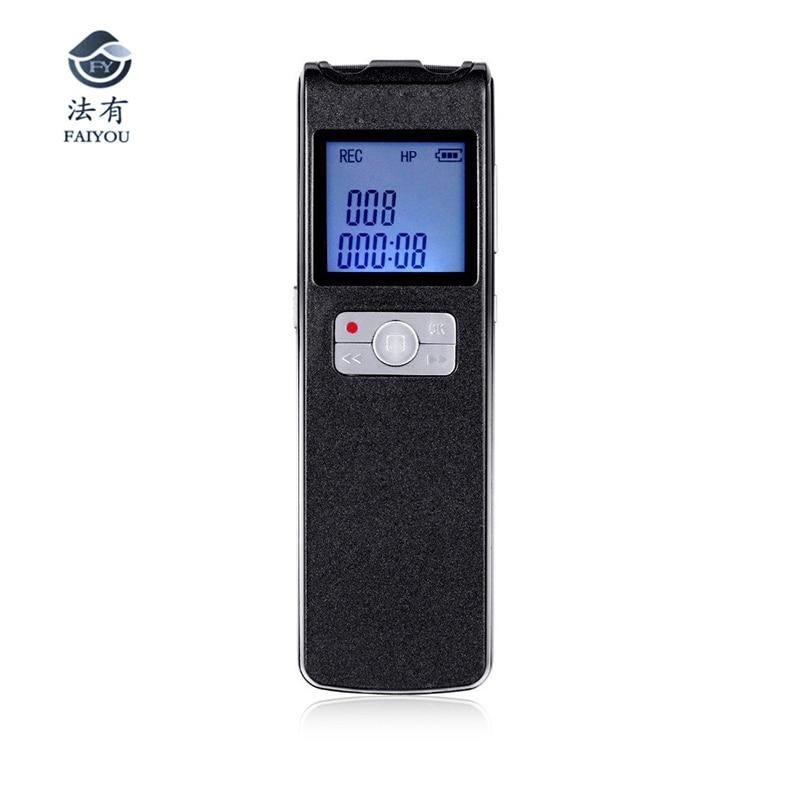 Super Long temps 350 heures enregistrement continu MiNi stylo USB 8 GB FM lecteur MP3 enregistreur vocal Audio numérique