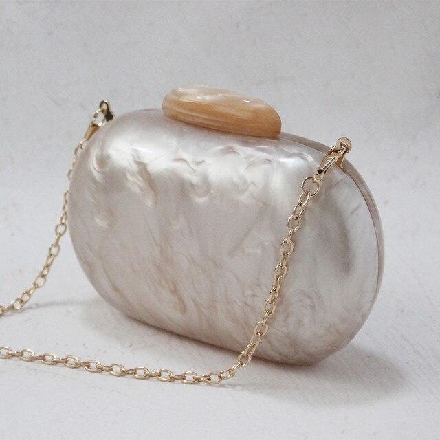 Wallet Women Acrylic Cute Round Evening Bag 5