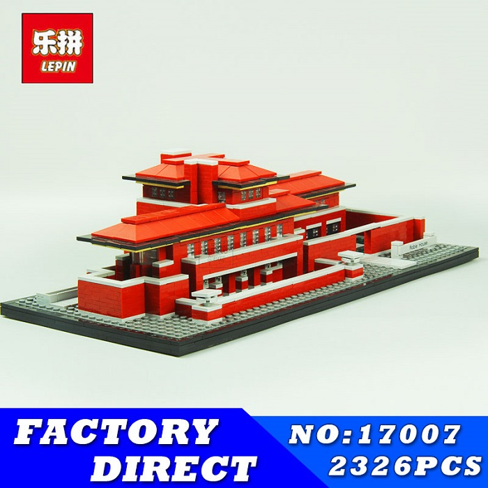 LEPIN 17007 2326Pcs Genuine Architecture Series The Robie House Educational Building Blocks Bricks Toys Model Compatible 21010 чехол для одежды valiant classic объемный 60 х 100 х 10 см