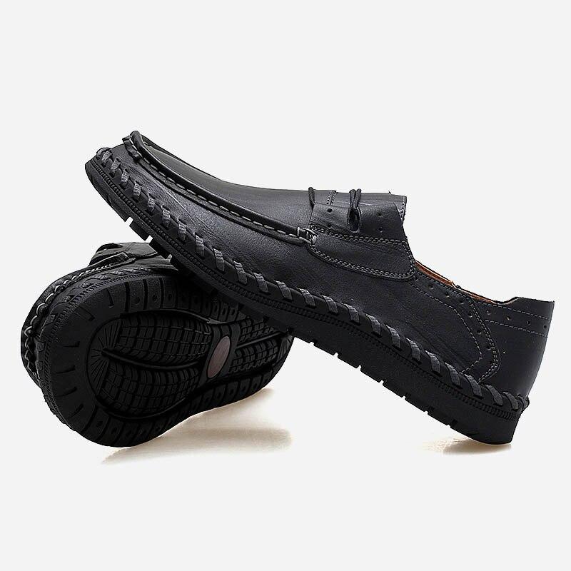 Pour En Chaussures Automne Cuir Marque Noir Qualité Printemps yellow Mâle Hommes Doux De Mocassins Mode Occasionnel Penreya Conduite 2019 Brown Lumière Brown red Concepteur 5f7qn8