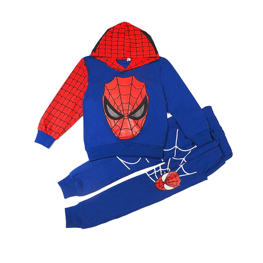 ace310c0188e 2018 Marvel Comic Classic Spiderman Kid Baby Boy Special Kostym Set ...