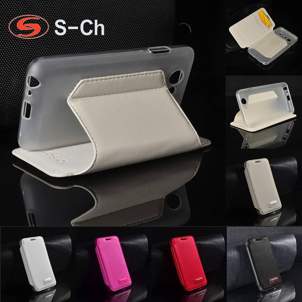 Housse pliante pour Samsung Galaxy S Advance I9070 affaires étui à rabat Original Station Durable Faux cuir avec porte-cartes