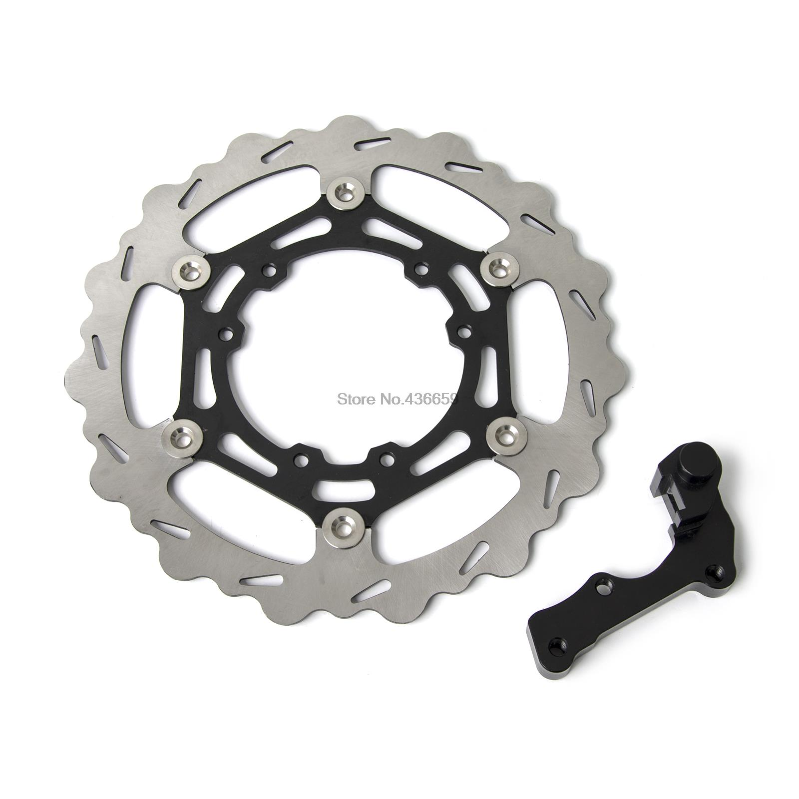 270mm Oversized/MX Front Brake Disc Rotor For Honda CR125E 95 2000 2001 2002 2003 2004 2005 2006 2007 2008 накладки на пороги honda cr v ii 2001 2007 carbon