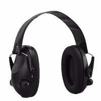 TAC 6s Noise Canceling Tactical Shooting Headset Anti Noise Sport Hunting Electronic Shooting Earmuff Headphone