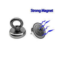 Super Strong Magnet Pot Fishing Hook Magnets Deep Sea Salvage holder pot Magnets Imanes Strongest Permanent Powerful Magnetic
