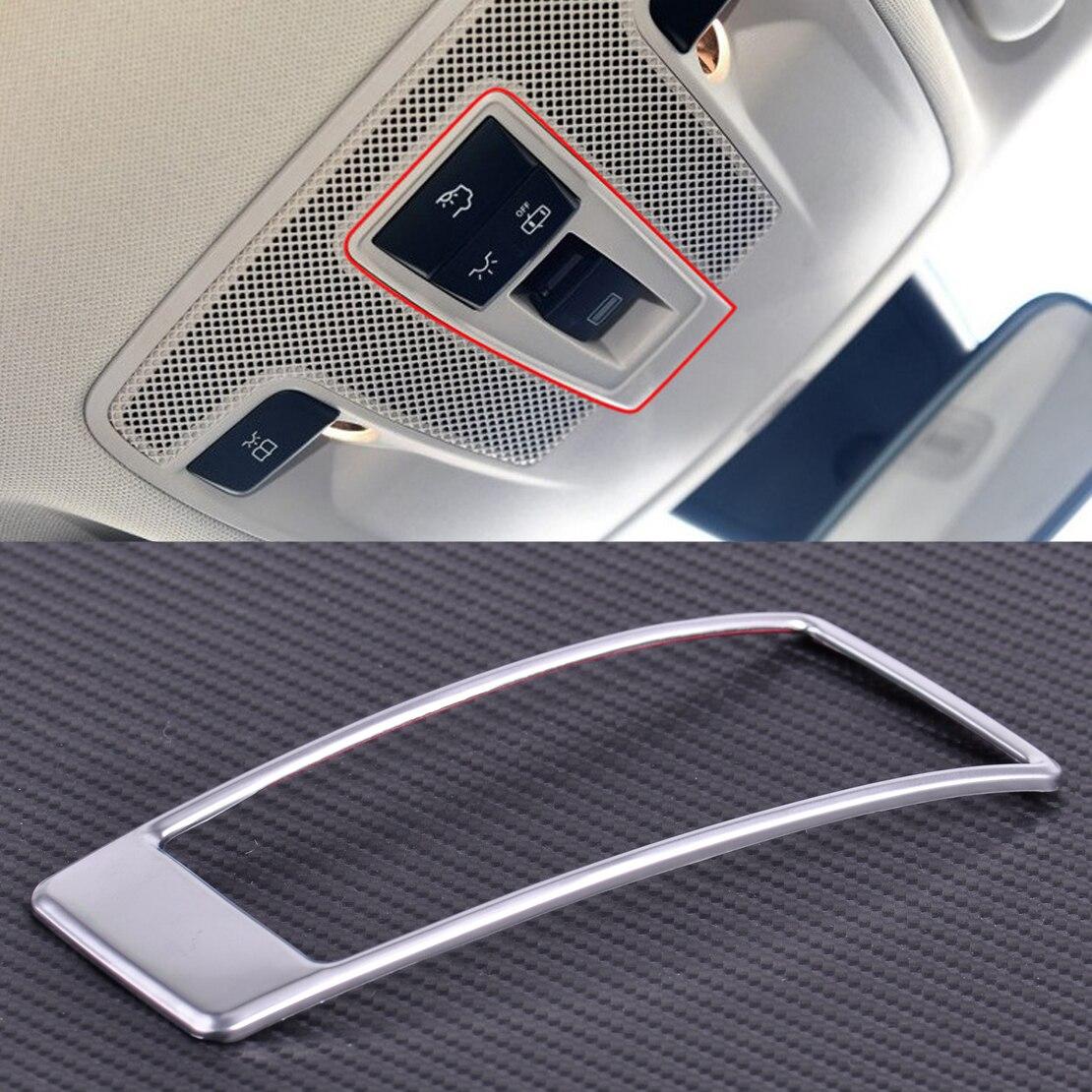 Carro-styling CITALL Sunroof Interruptor de Luz Decoração Guarnição Quadro Capa para Mercedes Benz W176 W246 CLA Classe A B X156 C117 ABL 2015 2016