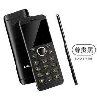 Metal Body Fashion Card Phone Ultra Slim Bluetooth 2 0 With Mp3 FM Dual SIM Children