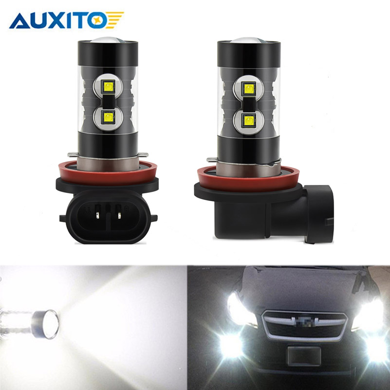 2x CANBUS H11 LED Fog Light Bulbs No Error DRL Lamp For BMW 3/5-Series 328i 335i E39 525 530 535 E46 E61 E90 E92 E93 F10 X3 F25