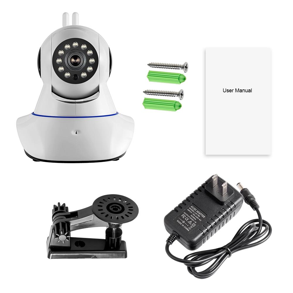 Bezprzewodowa kamera IP WiFi HD KERUI GSM Home Security Alarm Kamera - Bezpieczeństwo i ochrona - Zdjęcie 6