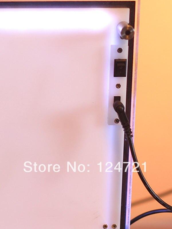 modulo de backlight lightbox fotografia de aluminio levou 04