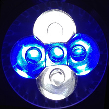 LED Aquarium Lights, E27 E14 GU10 Blue & White & Green For Fish Tank Lighting Aquatic Plants And Corals lamp Spotlight