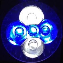 LED Aquarium Lights, E27 E14 GU10 Blue & White & Green For Fish Tank Lighting Aquatic Plants And Corals lamp Spotlight