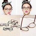 Hombres Mujeres Gafas Nerd Glasses Clear Lens Gafas Unisex Retro Gafas Gafas