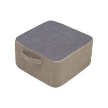 Portable Linen Japanese Futon Meditation Cushion Thickening Large Square Floor Cushions Seat Tatami