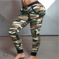 Camouflage Print Hip hop Sweat Military Pants ,Women Harem Dance Jogger Baggy Trousers Clothing , Sport Pants Women