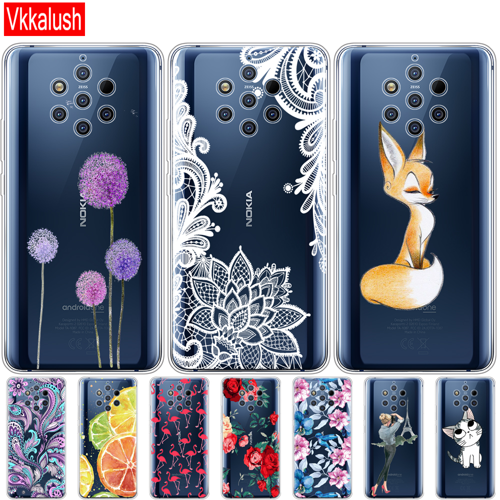 Case For Nokia 9 PureView Case Back Cover For Nokia 9 Pure View Phone Case Bumper For Nokia 9 PureView Bumper Coque Cartoon