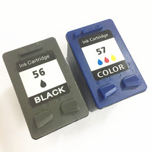 einkshop 56 57 Compatible Ink Cartridge Replacement For HP Officejet 4110 4255 4256 5510 5608 Deskjet 450Ci 5160 5550