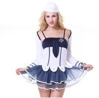 Ensen navy sailor dress halloween kostüm reizvolle uniform anime girl maid lace lolita dress mädchen kostüm roleplay fancy dress