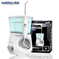 치과 Waterpulse 충전식 물 선택 치아 청소 구두 Irrigator V600 치과 워터 제트 Flosser 5 개 제트