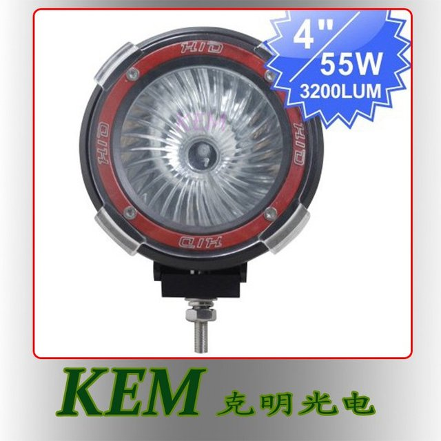 """Free shipping !!! Top quality 12V 55W 4"""" H3 HID Drving Lamp HID Working Light for truck"""