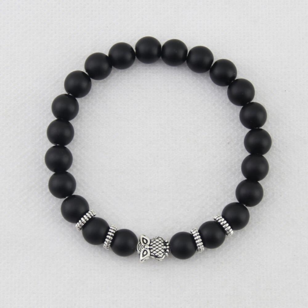 Best-selling matt stone bracelet, Buddha head, elephant, leopard head, lion head, owl turtle bracelet men and womenbb0682