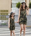 2016  hot sale Knee Length Family Matching Outfits free shipping+R