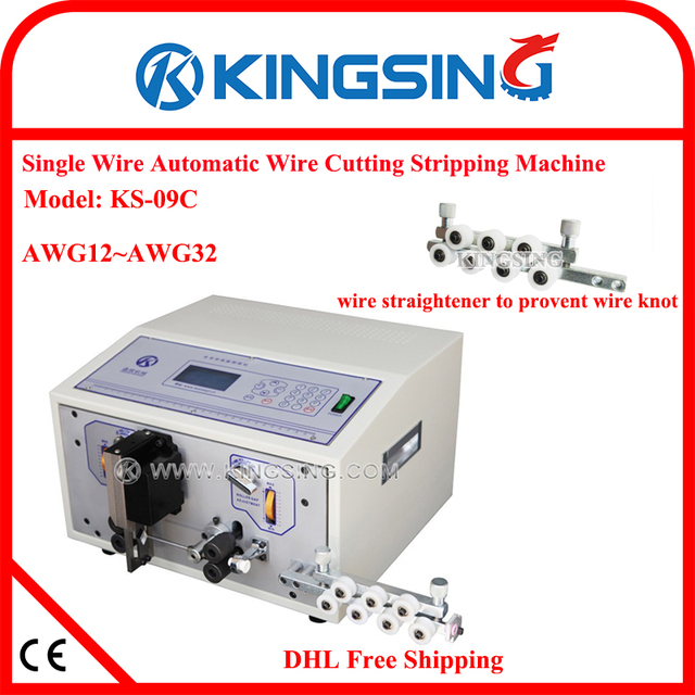 Automatic Cable Wire Processing Machine, Wire Stripper Tool KS 09C ...