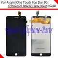 Черный Полный ЖК-Дисплей + Сенсорный Экран Digitizer Тяга Для Alcatel One Touch Поп-Звезда 3 Г OT5022 OT 5022 OT-5022 5022X 5022D