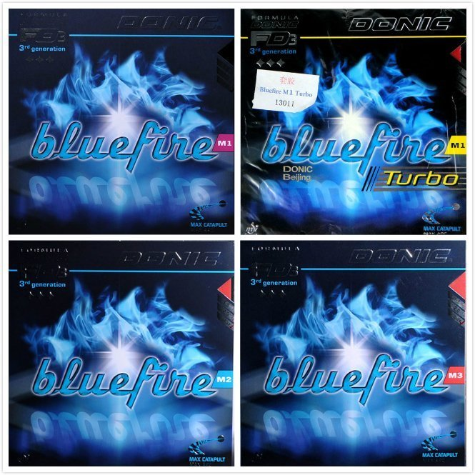 Donic Original Blue fire M1/M2/M3 Bluefire Pips-in BLUE SPONGE Table Tennis Rubber Strong Spin Pimples In Ping Pong Rubber joola original express x plode sensitive table tennis rubber pimples in with sponge ping pong rubber
