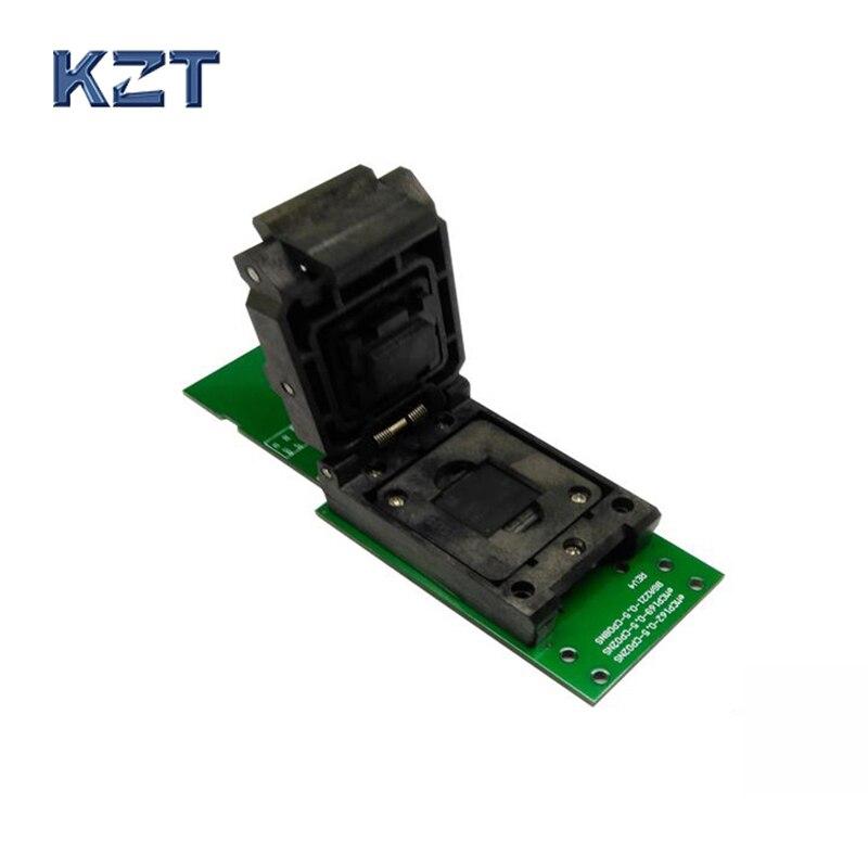 eMCP221 BGA221 гнездо/адаптер на SD адаптером программирования интерфейса HDD флэш-памяти мобильного планшета гнездо для восстановления данных