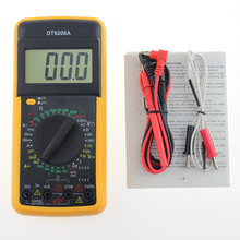 New DT-9208A Handheld Auto Range Digital Multimeter Voltage Amp Ohm Frequency AC/DC Temperature Hertz Tester P20