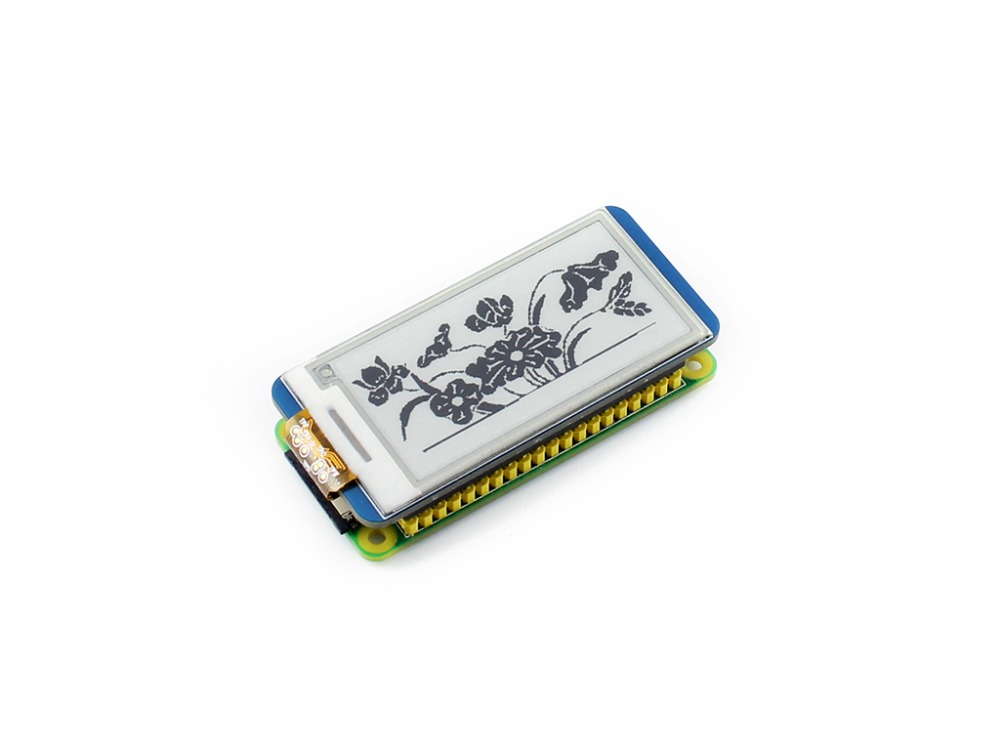 x inch E Ink display HAT for Raspberry Pi supports partial refresh