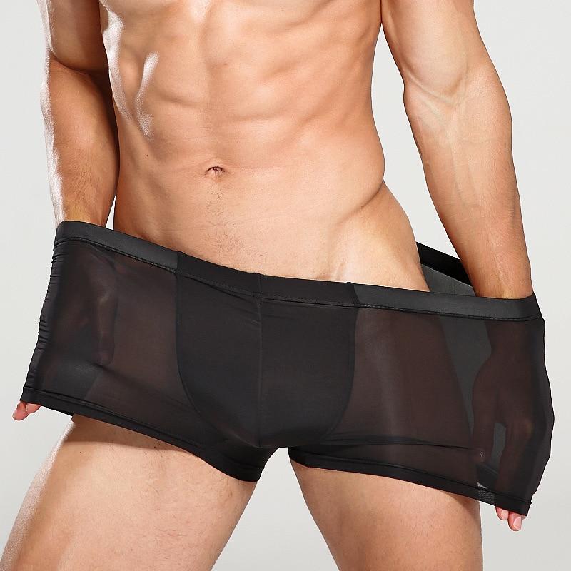 New Male Underwear Men Boxer Men's Sexy Underpants For Men Panties Boxershorts Cuecas Soft Tight Underpants Cueca Boxer Men XXXL