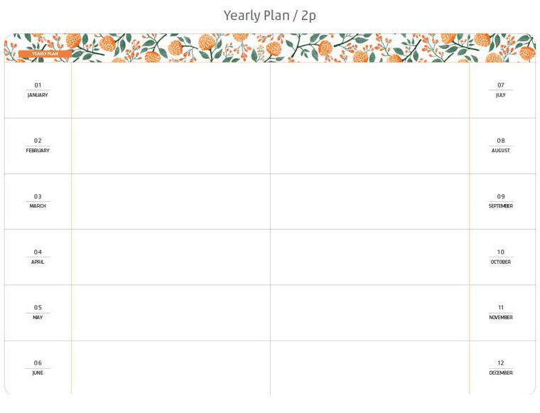 quot Flowery Planner quot Faux Leather Cute Beautiful Monthly Weekly Planner Agenda Study Diary Travel Journal Notebook in Notebooks from Office amp School Supplies