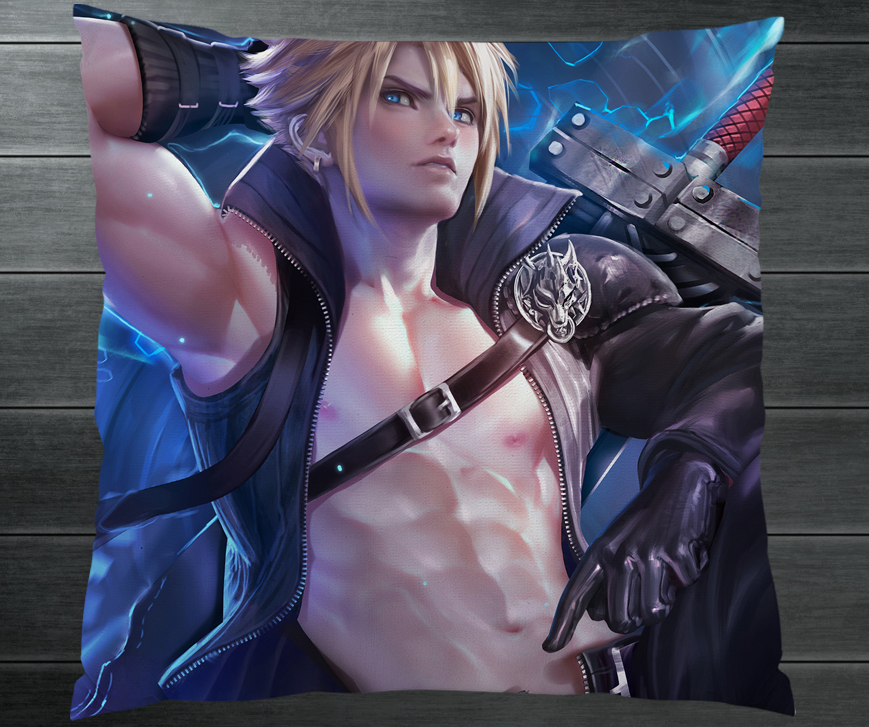 Final Fantasy 7 Ff7 Vincent Valentine Cloud Strife Fanart