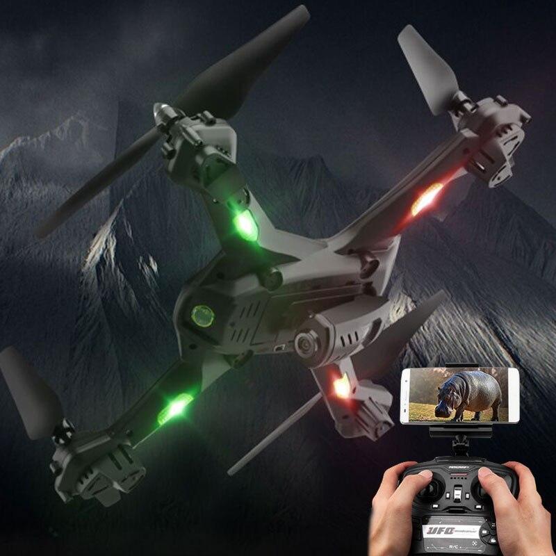 Новые Drone S5 вертолет высота H Quadcopter 2.4 ГГц 4ch 6 оси 2mp HD Камера RTF Дистанционное управление Профессиональный Дрон игрушечные лошадки