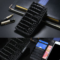 Luxury Crocodile Leather Flip Cover Case For LG K8 Wallet Phone Bag Coque With Card Holder