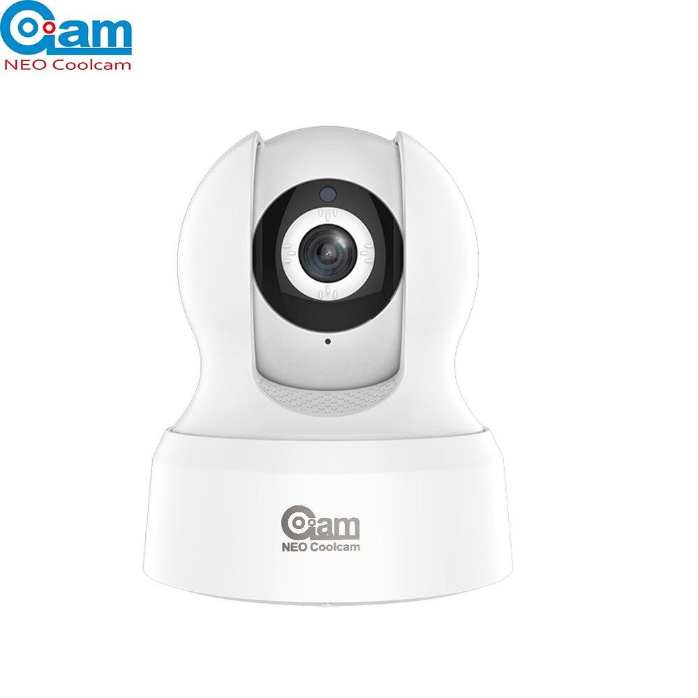 NEO COOLCAM Smart Domotique Wi-Fi Caméra IP Sans Fil HD 720 p Réseau Nuit Vision CCTV Caméra Travail avec Alexa echo Spectacle