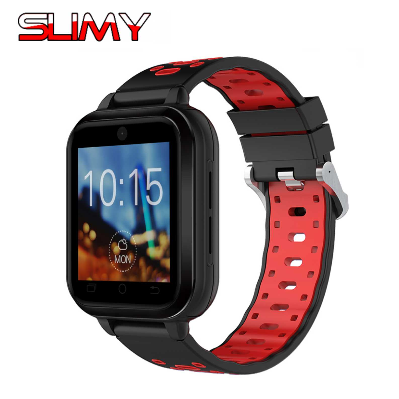 Slimy 4G IP67 Waterproof Smart Watch Android 6.0 OS MTK6737 RAM 1GB ROM 8G WIFI GPS Wristwatch Support Nano SIM Card Heart rate 4g gps android 6 0 smart watch m5 mtk6737 heart rate monitor support sim card camera business smartwatch for men women 2018 gift
