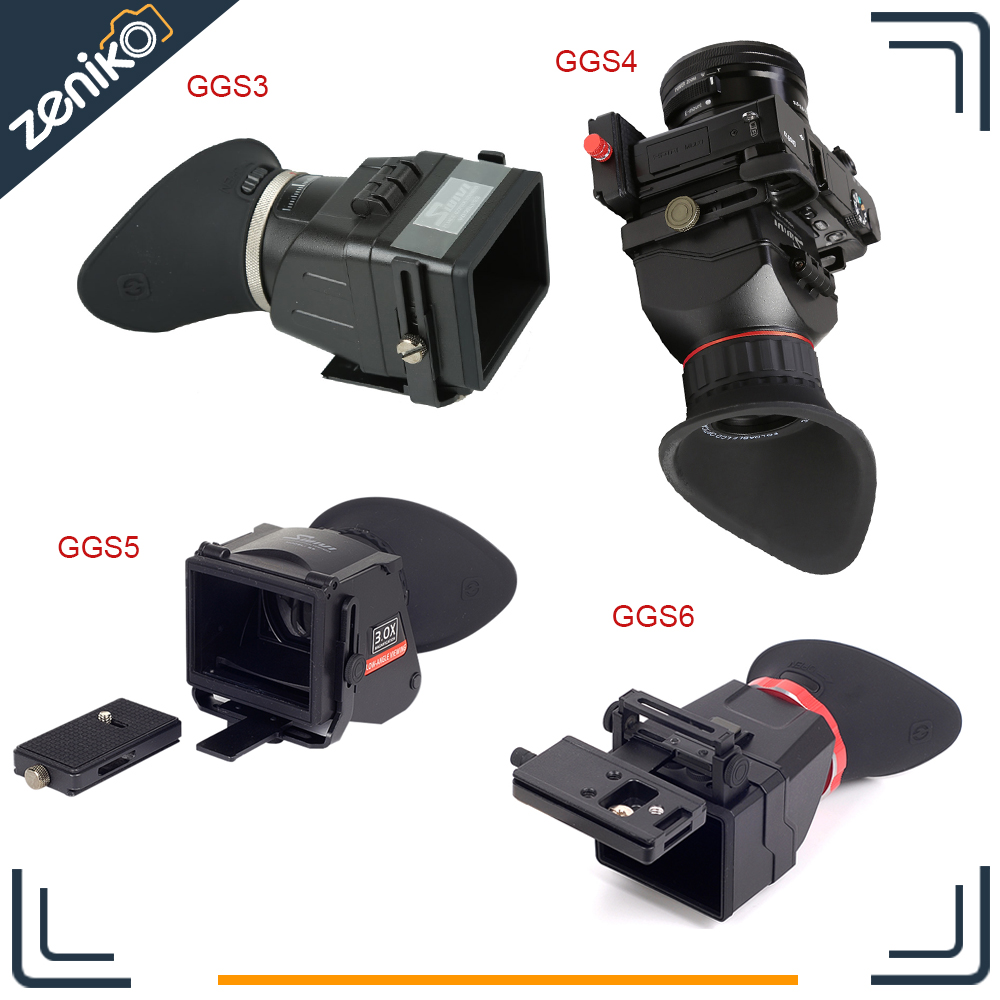 GGS Swivi S3 S4 S5 S6 all Series Foldable Viewfinder 3X for 3 2 4 3 16 9 Ratio 3 0 quot 3 2 quot Screen DSLR Micro Camera with Board in Camera LCD Screen from Consumer Electronics