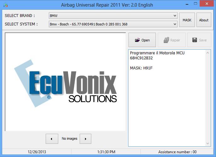 Airbag Universal Repair 2011 Ver 2.0
