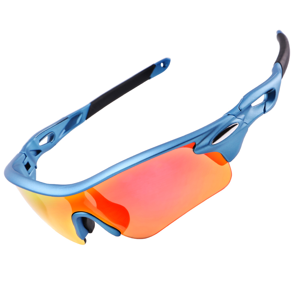 WHEEL UP Waterproof Coating Aerodynamic Bicycle Polarized Sunglasses MTB road Cycling Glasses Bicycle Protection Goggles Eyewear in Cycling Eyewear from Sports Entertainment
